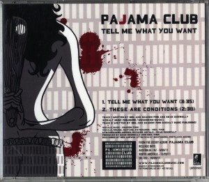 Tell Me What You Want (Australia Promo CD)