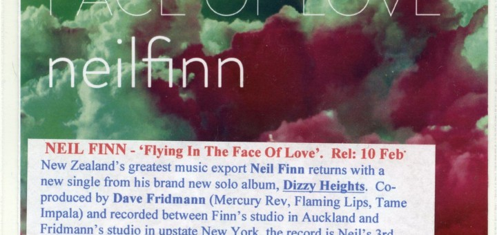 Flying In The Face Of Love (UK Promo CDR)
