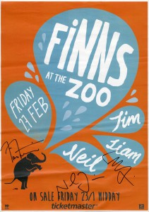 Finns At The Zoo (New Zealand Promo Poster)